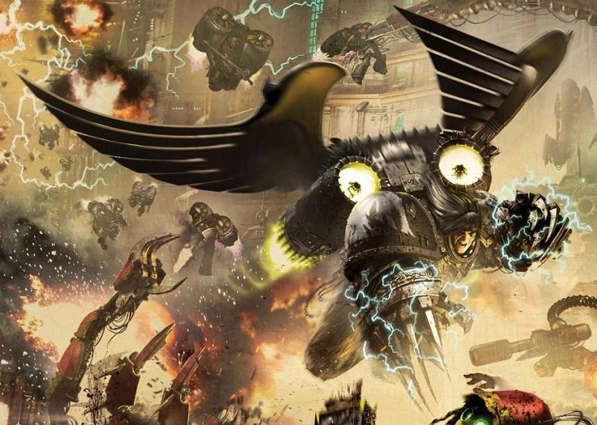 Nový model Corvus Corax pro Horus Heresy