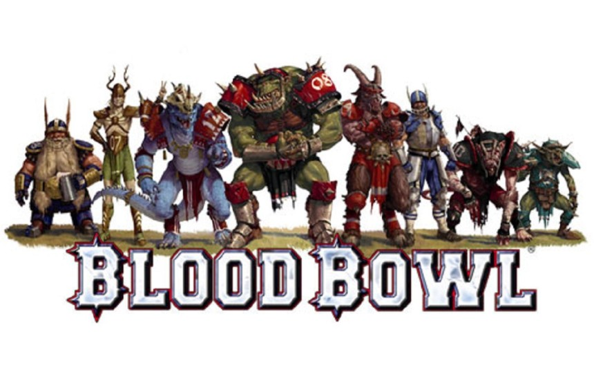 Blood bowl:Chycený míč! Fotky z  Spielwarenmesse