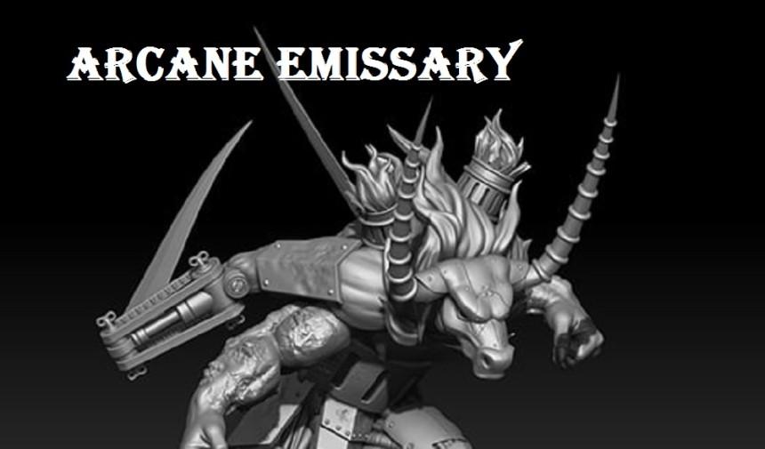 Malifaux Preview : Arcane Emissary