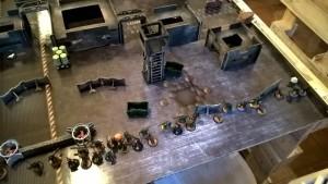 01 Bitva 1 NOMIS - Blainův deploy