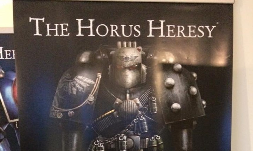 Víkend s Horus Heresy – Shattered Legions,Blackshields a těžké zbraně