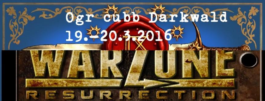 Pozvánka : Ogr Cubb Darkwald