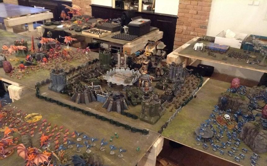 Apocalypse – Imperial Guard/Elyssia vs. Tyranids (24.000 pts.) 1/2