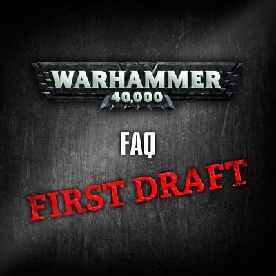 W40K : GW draft nových FAQ 1/2