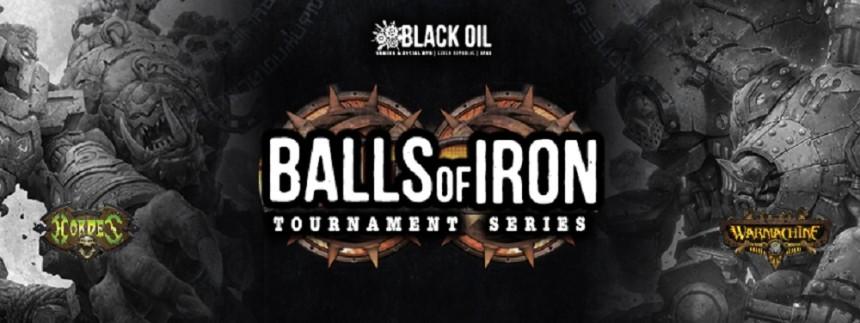 Pozvánka na sérii turnajů Balls of Iron