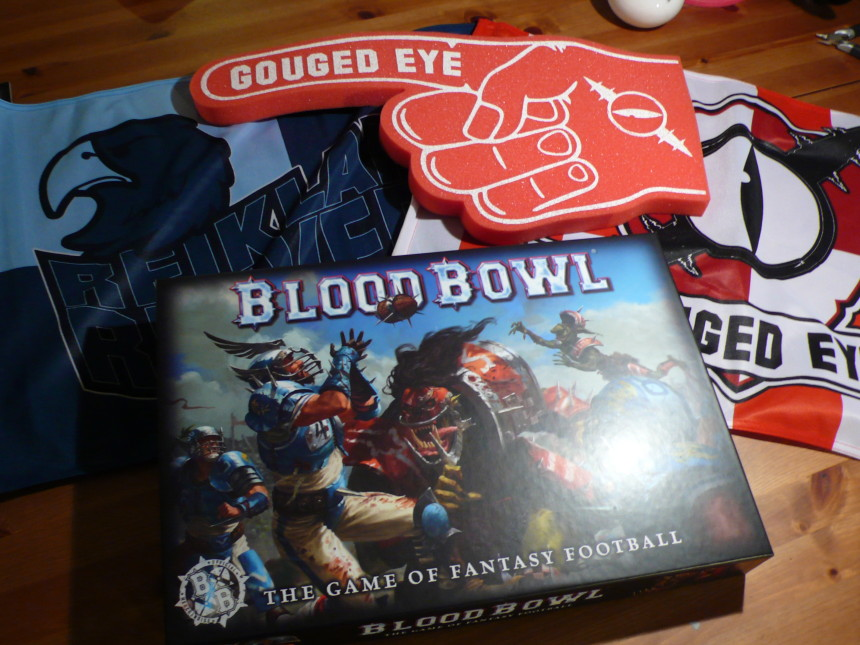 Unboxing : Blood Bowl