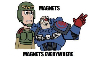 Magnetkujeme modely – návod a užitečné tipy