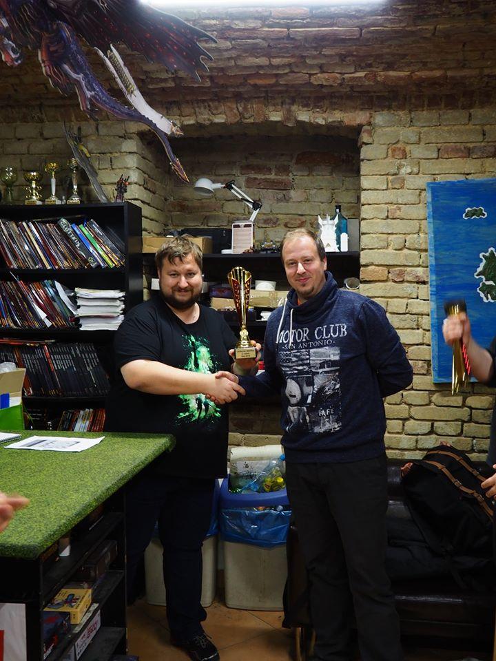 Rozhovor s Ramsesem, vítězem U10